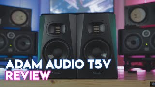 Adam Audio T5V Speaker Review - Best Monitors For Bedroom Producers?