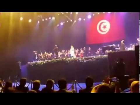 Soirée de la diva libanaise Majda Roumi en Tunisie