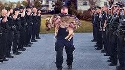 Polizeihunde werden wie Menschen beerdigt. Das musst du dir ansehen!