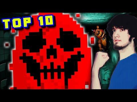 Top 10 BEST Scary Fan-Made Games/MODS/HACKS! - PBG