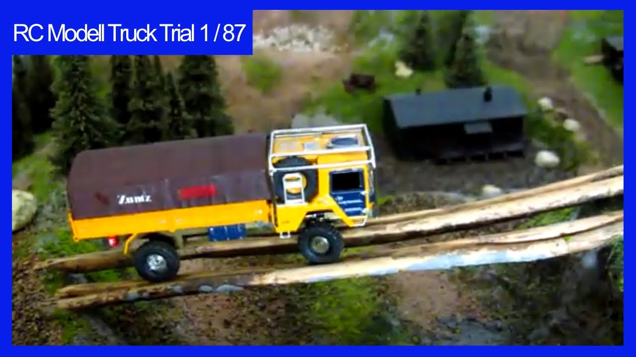 rc man kat1 truck trial 1 87 youtube. Black Bedroom Furniture Sets. Home Design Ideas