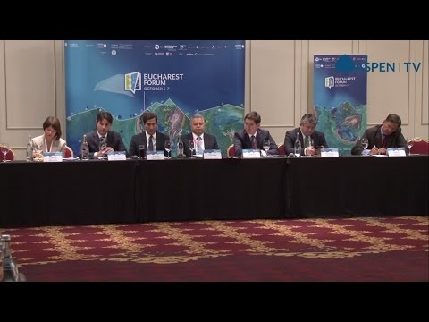 """Give Energy a Chance: Energy Union and Regional Transformations"" at Bucharest Forum 2016"