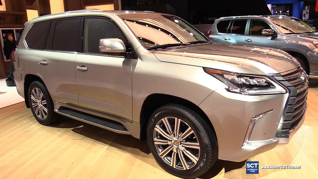 2017 Lexus Lx 570 Exterior And Interior Walkaround 2017 Detroit