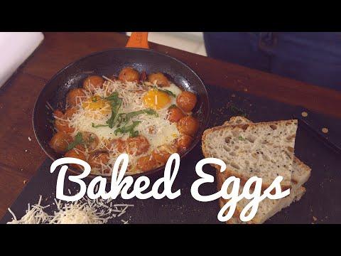 Crumbs Food's Baked Egg Recipe