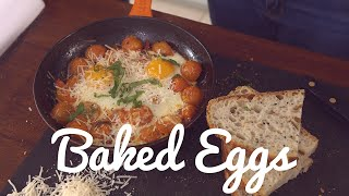 Crumbs Foods Baked Egg Recipe