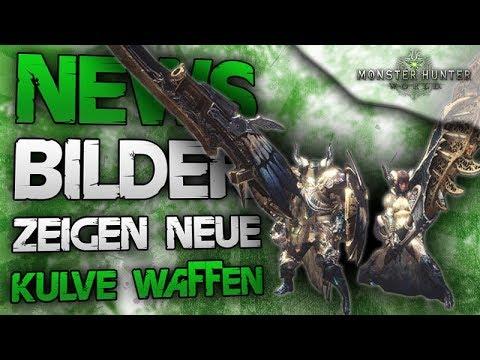 NEWS - Bilder von neuen Kulve Waffen aufgetaucht - Monster Hunter World Deutsch neue Infos zu Kulve thumbnail