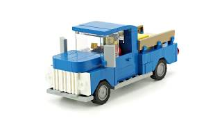 LEGO 60081 LEGO CITY 2015 Pickup Tow Truck