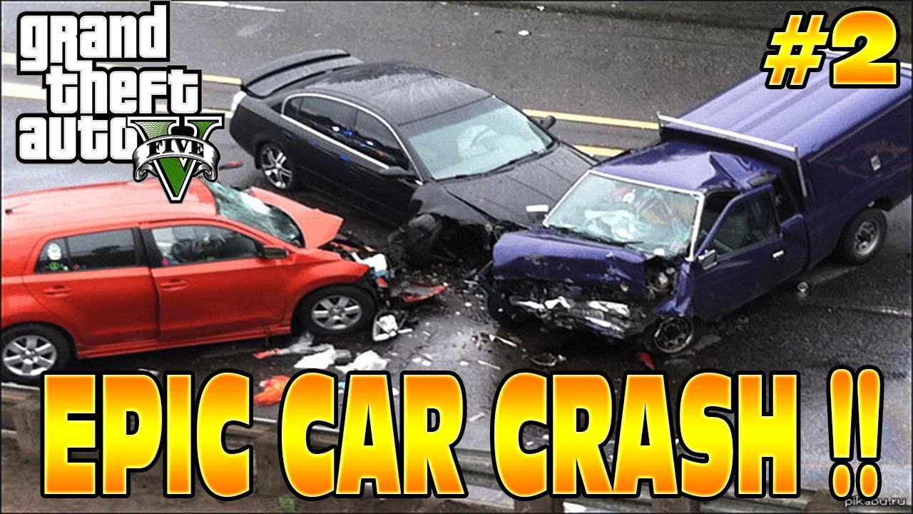 Grand Theft Auto Car Crashes