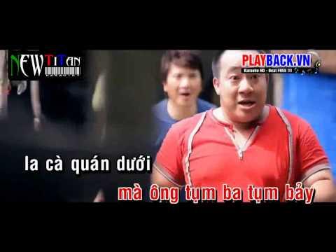 Ông Xã Nhà Tôi karaoke - Dương Ngọc Thái ft Hoàng Châu HD