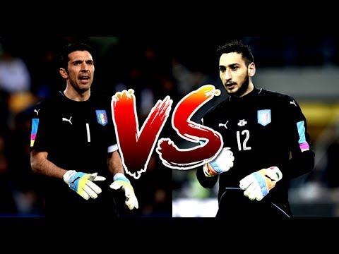 Gianluigi Buffon vs Gianluigi Donnarumma ● 2017 |Who's the best Italian goalkeeper| HD
