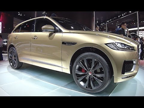 New Suv Jaguar F Pace Interior Exterior Video Youtube