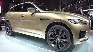 New SUV Jaguar F Pace  2016, 2017 interior, exterior video