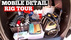Mobile Auto Detailing Setup: How To Organize Your Van (or shop) For Efficiency