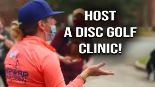 How to Host a Disc Golf Clinic | Meridith Giere on Why Disc Golf?