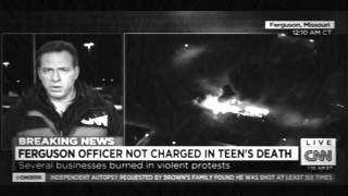 CNN News Today : Ferguson Officer Not Charged in teen