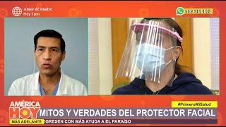 América Hoy: Conoce cuál es el protector facial ideal para evitar el contagio (HOY)