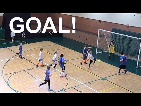 ⚽️BOY SCORES WINNING GOAL AT SOCCER GAME!!