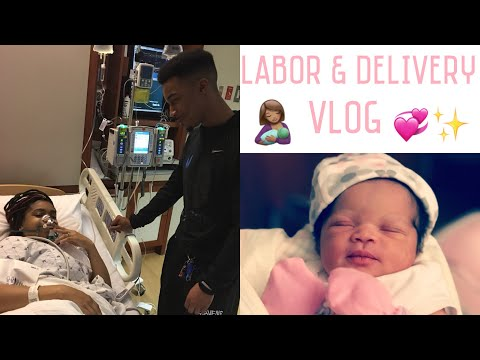 LABOR AND DELIVERY VLOG  BABY LYRIC IS HERE!!  Lolo & Free Team 
