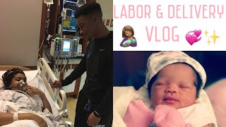 LABOR AND DELIVERY VLOG| BABY LYRIC IS HERE!! |Lolo & Free Team|