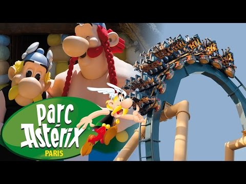 All Rollercoasters Parc Asterix Paris France