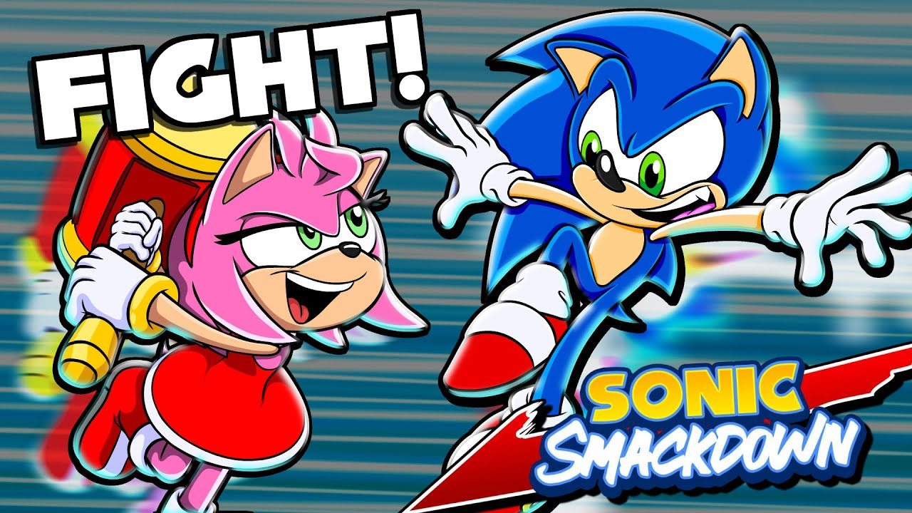 SONIC VS AMY!! - Sonic Smackdown | Sonic & Amy Squad