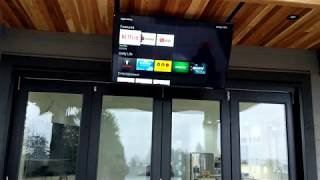 INSTALLING A MOTORIZED CEILING TV MOUNT THAT FLIPS DOWN