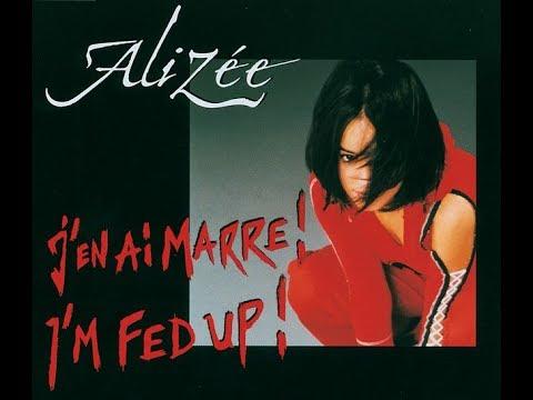 Alizée - I'm Fed Up! Bubbly Club Remix Music Video
