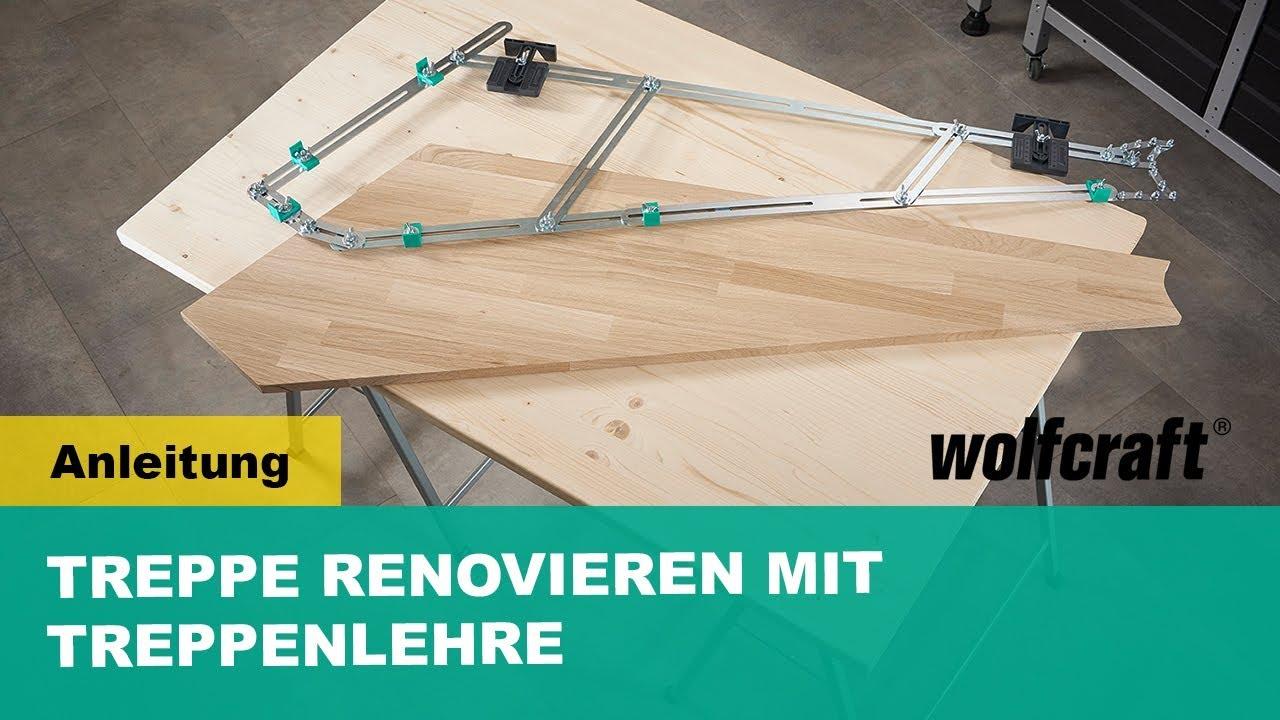 treppe renovieren mit treppenlehre - schritt für schritt anleitung