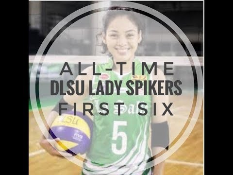 All-Time DLSU Lady Spikers Starting Six