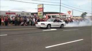 Hickman Car Show Burnouts