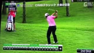 18 CIMBクラシック2日目 松山英樹 ハイライト(フロントナイン) 松山英樹 検索動画 24