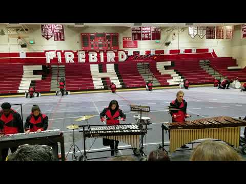 Santa Cruz High School drumline Fremont competition