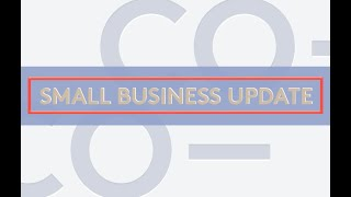Small Business Update: December 2020 Coronavirus Relief