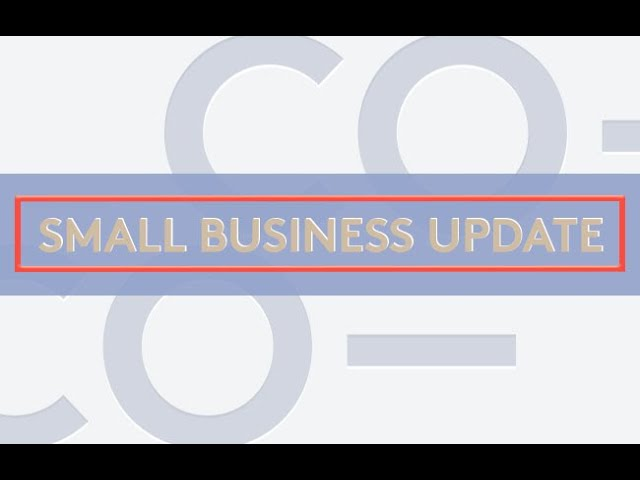 Small Business Update: The Latest Stimulus Details and Changes to PPP Loans