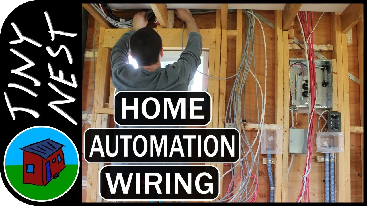 DIY Smart Tiny House Control Wiring (Ep.46) on