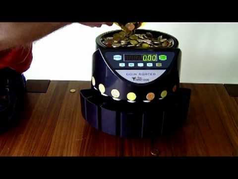 Coin Sorter Coin Counter In Use M 252 Nzz 228 Hler Geldz 228 Hlma