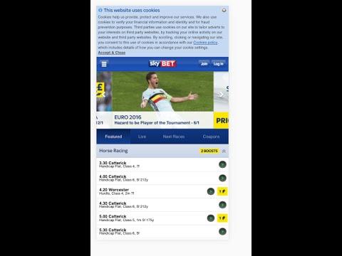 Video Sportwetten apps für iphone