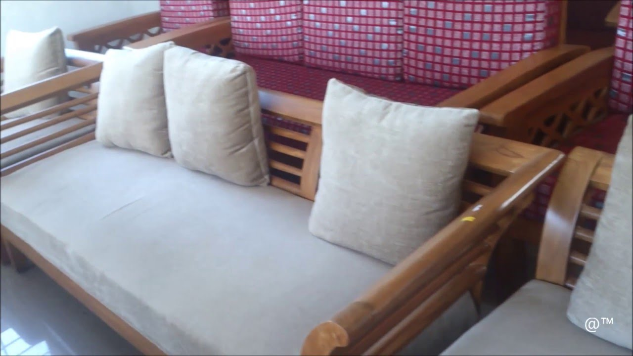 Bent Design For Teak Wood Sofa Set Youtube