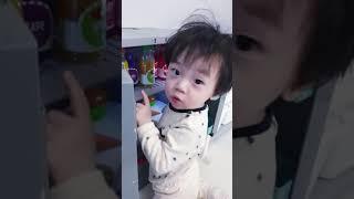 13개월아기 냉장고 소꿉놀이