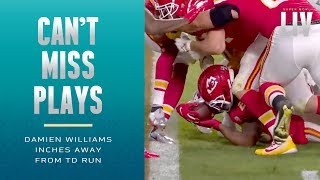 Damien Williams Inches Away from 4th-Down TD! | Super Bowl LIV