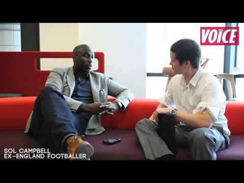 Watch the complete Sol Campbell interview