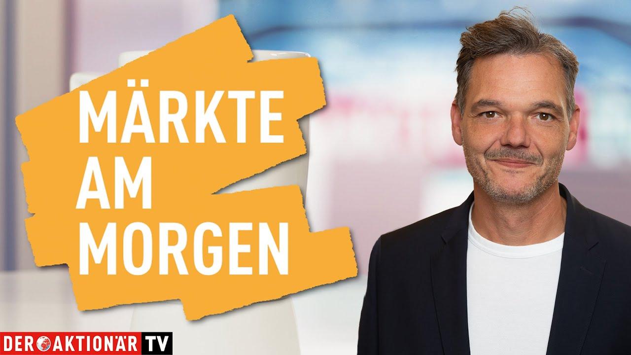 Märkte am Morgen: Bitcoin, Gold, Match, PayPal, Peloton, Telekom, Dt. Bank, Shop Apotheke, Varta - DER AKTIONÄR TV