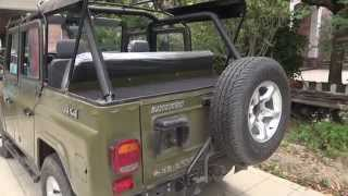 Chinese Military Jeep BJ2023 Model 2015 Test Drive