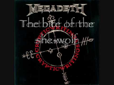 She Wolf- Megadeth- Subtitle [Lyrics]