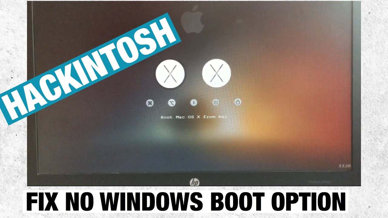 How to fix/add windows boot option in clover bootloader (easy)
