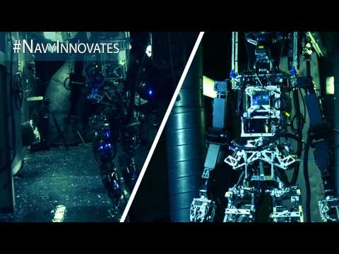 Office of Naval Research Promo - Shipboard Automated Firefighting Robot (S.A.F.Fi.R)