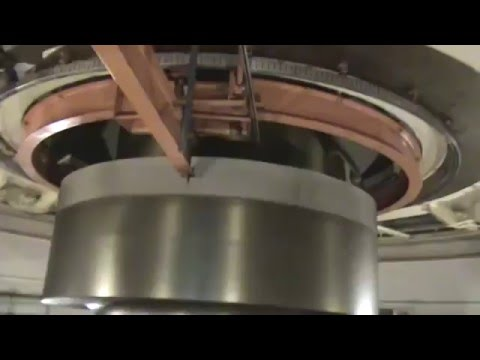 Hydroelectric turbine in Itaipu - Brazil