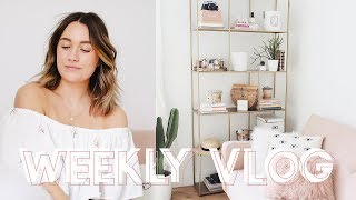 Homeware Haul & Styling My New Shelves! // KATE LA VIE