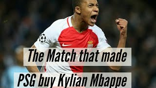 #Mbappe #PSG The match that made PSG buy Kylian Mbappe