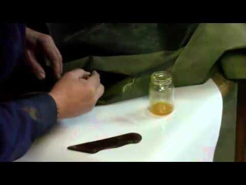 Ремонт резиновой надувной лодки.mp4